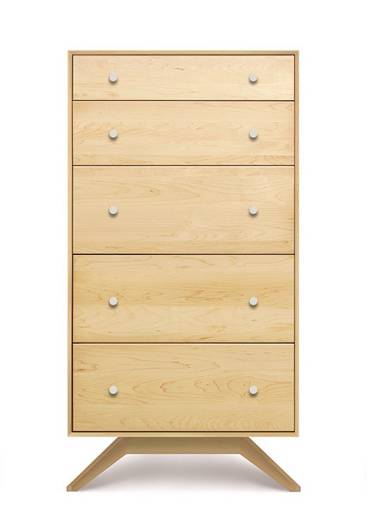 Picture of ASTRID 5 DRAWER IN MAPLE